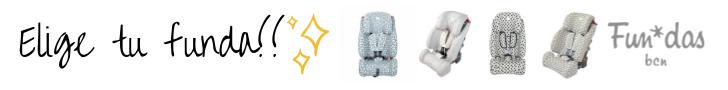 Funda algodón silla coche Klippan